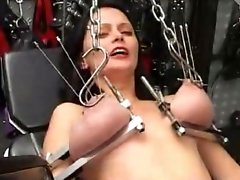 Anita Long Needles Through the Tits and Electro Torture Galaxy