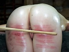 The Mark of the Cane on a beautiful ass