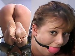Powershotz - Ballgagged and Explored
