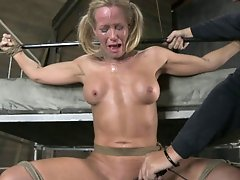 SB - Helpless Cougar is Sexually Destroyed - Simone Sonay - Dec 19, 2012